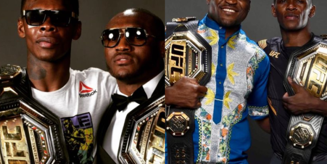 There are less than 30 Africans fighters in the UFC, yet 3 of us are Champions