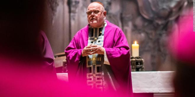 Top German Catholic Church official offers resignation over 'catastrophe of sexual abuse'
