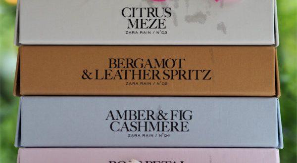 Zara RAIN Fragrances by Jo Malone | British Beauty Blogger
