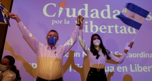 Nicaragua opposition names presidential ticket to take on Ortega