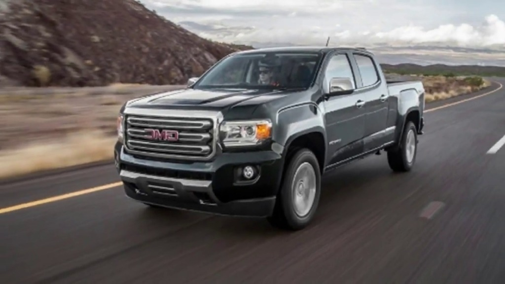 2019 GMC Canyon Spy Shots