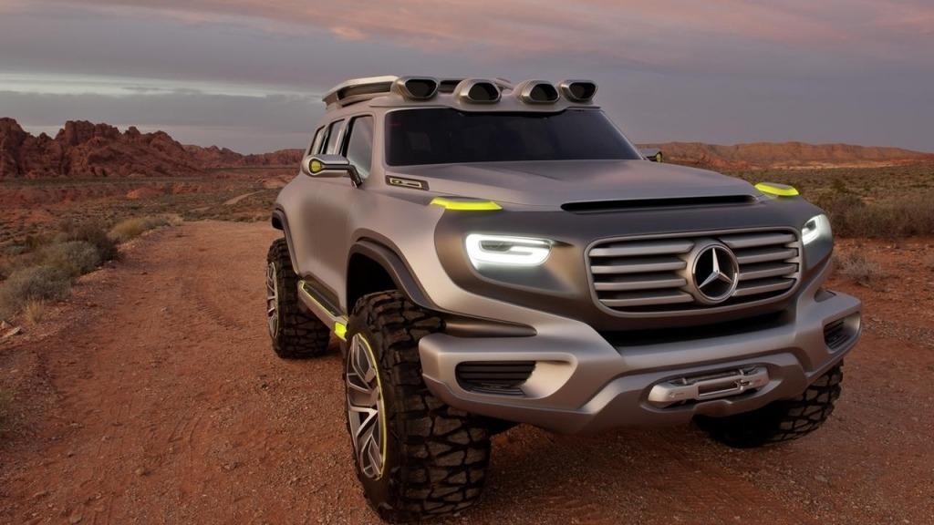 2020 Mercedes GLG Powertrain