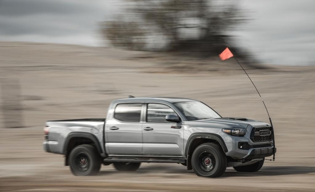 2021 Toyota Tacoma Spy Shots
