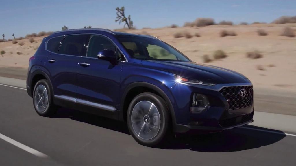 2022 Hyundai Santa Fe Drivetrain