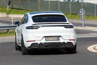 2022 Porsche Cayenne GTS Coupe Spy Photos