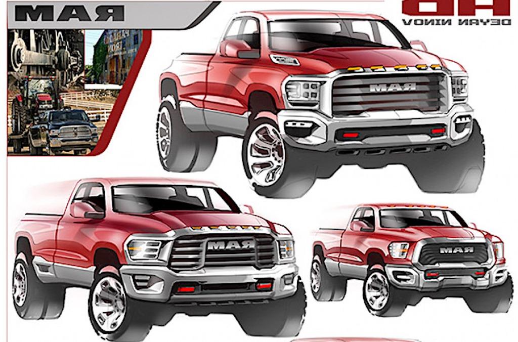 2022 Dodge Dakota Interior