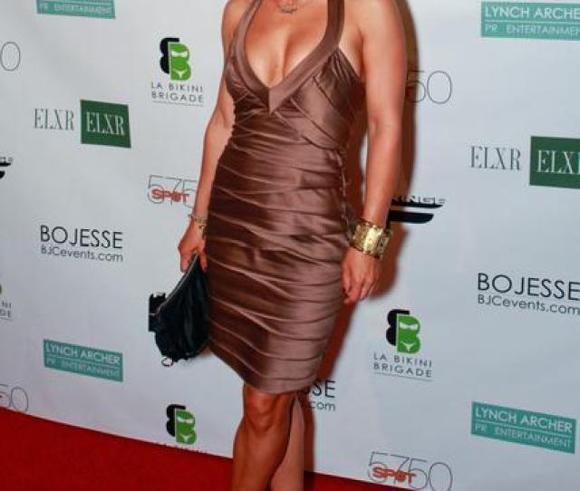 Jennifer Korbin At  Toys For Tots Toy Drive At Elxr In Hollywood