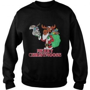 Merry Christmoose Bullwinkle Shirt