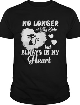 Cat no longer at my side but always in my heart shirt