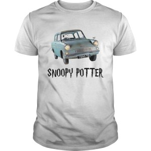Snoopy driving Harry Potter Unisex