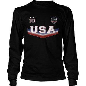 The United States womens national soccer team 10 LongSleeve