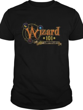 Wizard 101 10th Anniversary shirt