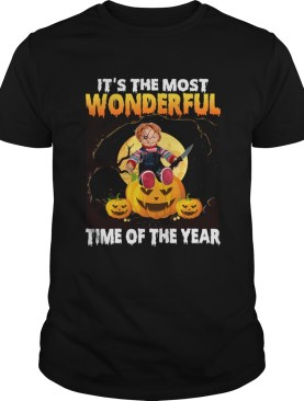 Chucky Its the most wonderful time of the year shirt