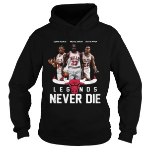 Chicago Bulls Players Legends Never Die Dennis Rodman  Hoodie