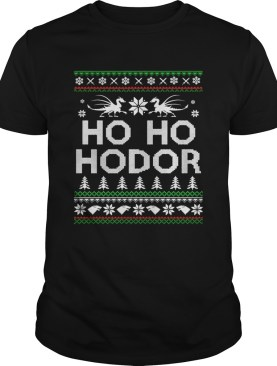 Game of throne HO HO Hodor Christmas Hoodie T Shirt