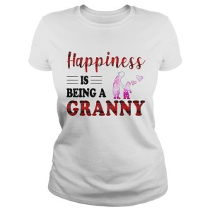 Happiness Is Being A Granny Caro TShirt Classic Ladies