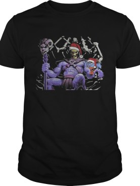 Master Of The Universe Skeletor knitting pattern 3D print ugly Christmas shirt