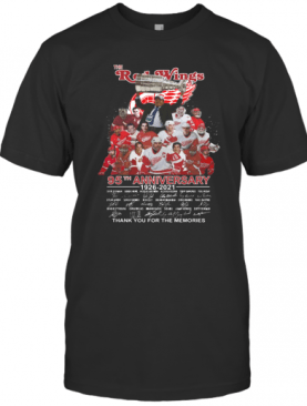 The Red Wings 95Th Anniversary 1926 2021 Thank You For The Memories T-Shirt