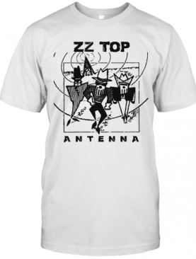 Zz Top Antenna Album T-Shirt