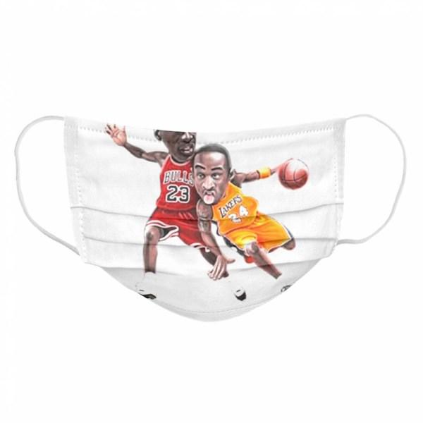 Lebra James and Kobe Bryant 2021 Cloth Face Mask