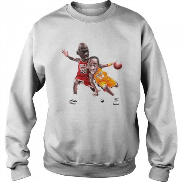 Lebra James and Kobe Bryant 2021 Unisex Sweatshirt