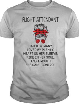 Flight Attendant Hated By Many Loved By Plenty Heart On Her Sleeve shirt