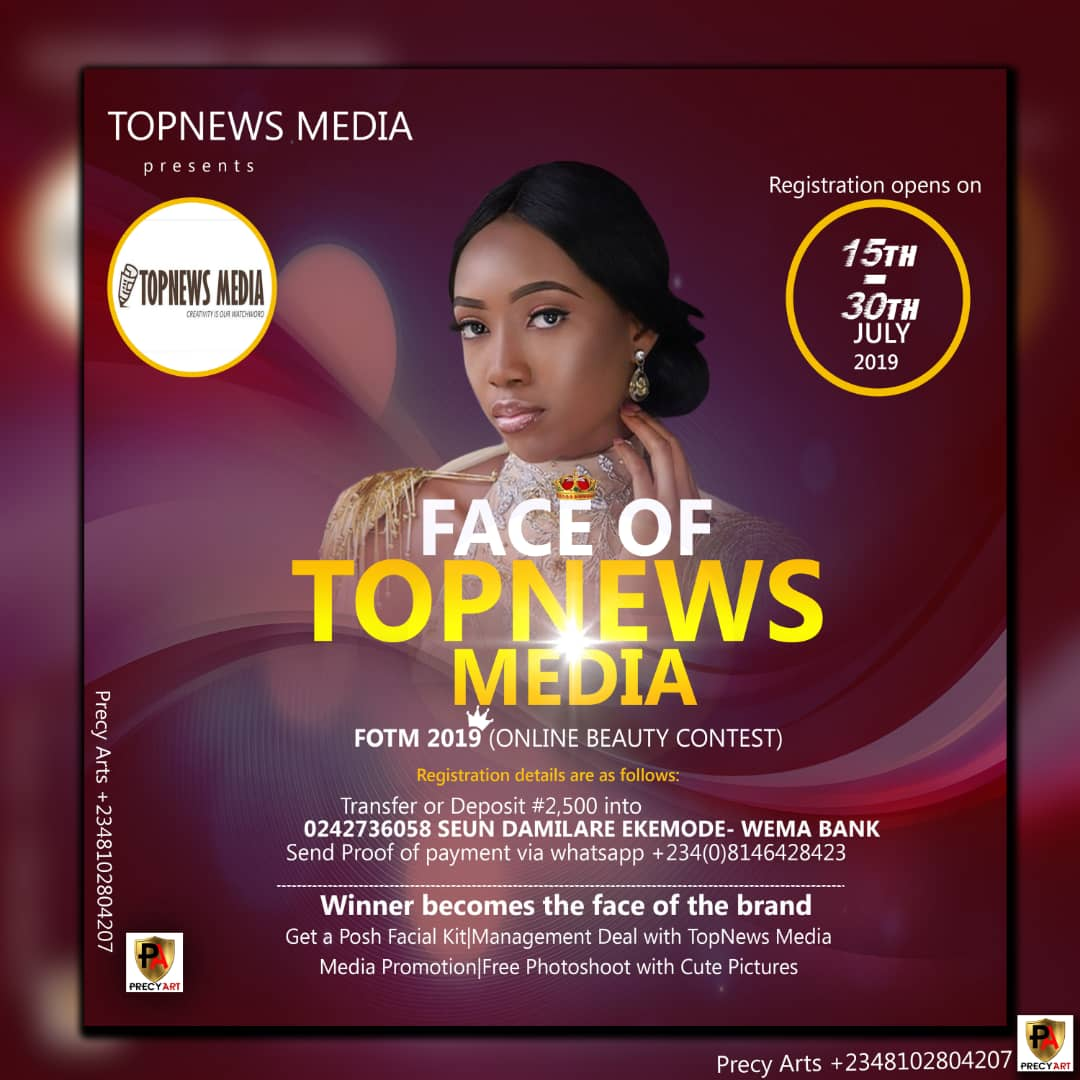 All you need to know about Face of Topnews Media 2019
