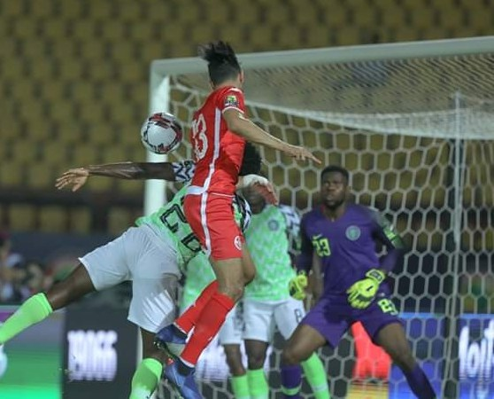 Beautiful football pictures from Nigeria vs Tunisia