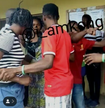 OAU Student Pours Sniper Into Her Bunkmates Mouth During An Argument (Photos)