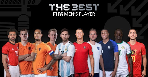 Best FIFA Player of the Year nominees announced