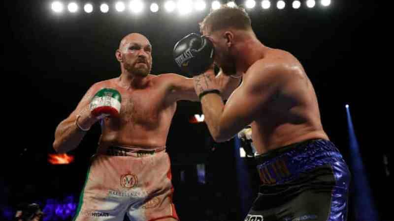 Tyson Fury defeats Otto Wallin in brutal Las Vegas fight