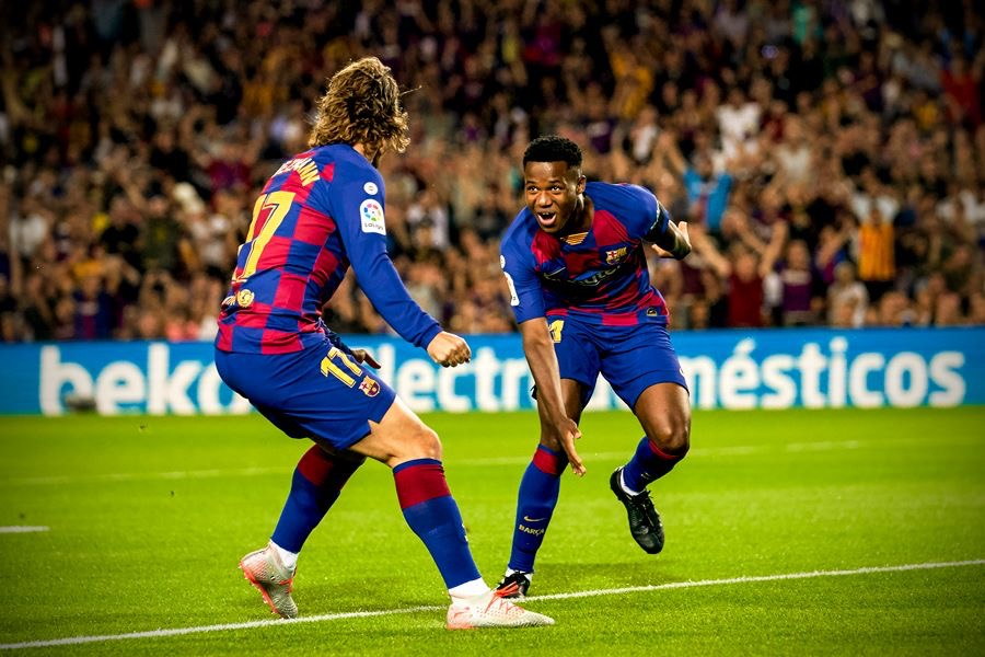 Youngster, Ansu Fati has better career start for Barcelona than all of the club's greats, including Messi