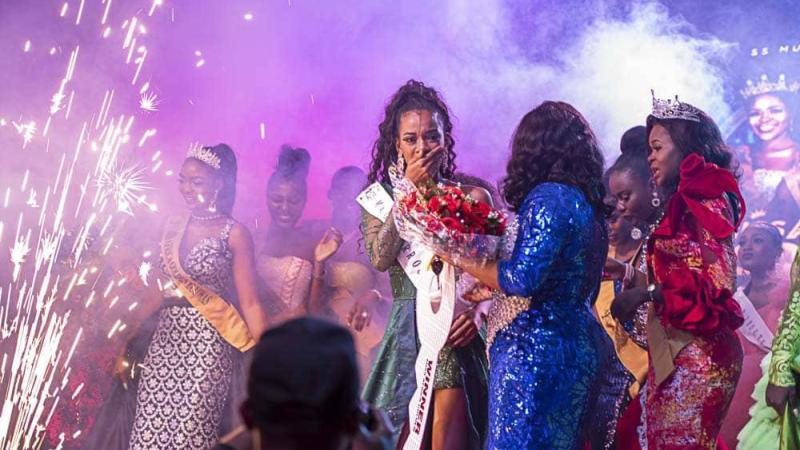 Miss Morocco emerges 'Miss African Golden Pageant' 2019