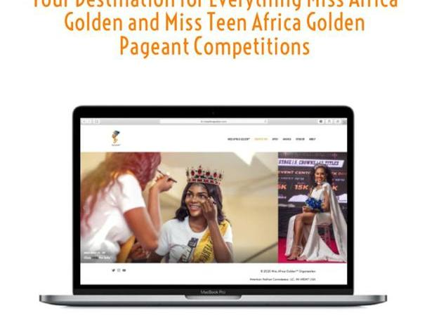 BREAKING!!! Miss Africa Golden Introduce a New Website, User Friendly and Spicy
