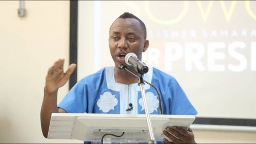 Sowore Named Among 20 Influential Persons To Watch Out For In 2020 By United States Newspaper
