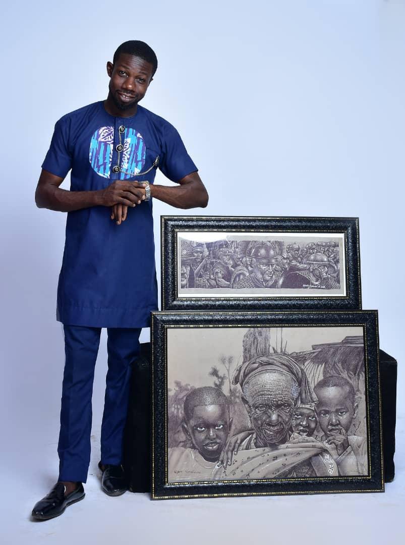 Spotlight: Ugwu Samuel Creates Digital Surrealist Paintings That Celebrate African Beauty