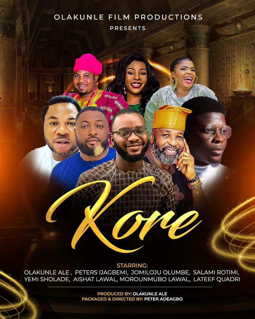 """The BTS Shots From OlaKunle Ale's Forthcoming Movie """"Kore"""" is Proof that Something Awesome is Cooking"""
