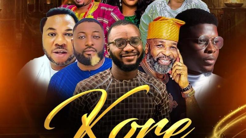 "A Sneak Peek of Olakunle Ale's Forthcoming Film ""Kore"" starring Yemi Sholade, Aishat Lawal & Salami Rotimi"