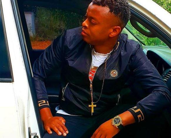 Alleged fraudster, RINGTONE APOKO, flaunts his gold wristwatch