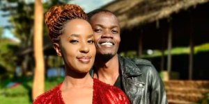 Rapper Juliani with his newfound Lilian Ng'ang'a, the former wife of Machakos Governor Alfred Mutua.