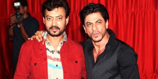 shah rukh khan with irfan khan