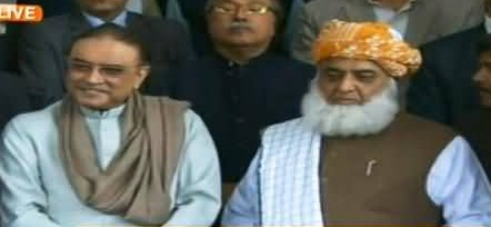 zardari and fazal ul rehman