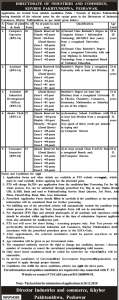 Jobs in Directorate of Industries and Commerce 2019