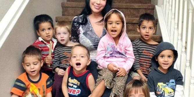 born eight child