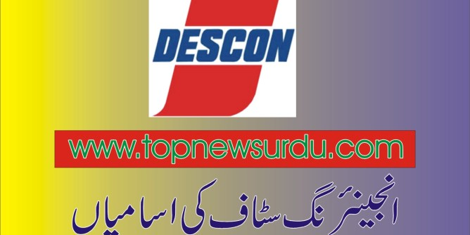 jobs in descon 2019