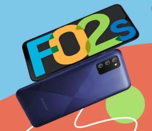 samsung F02s mobile