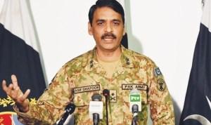 spoke person pak army