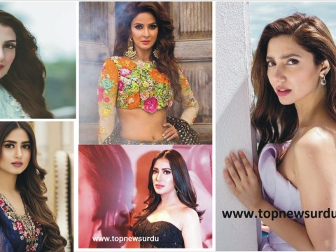 top 5 Pakistani actresses