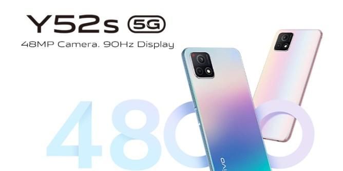 vivo y52s mobile