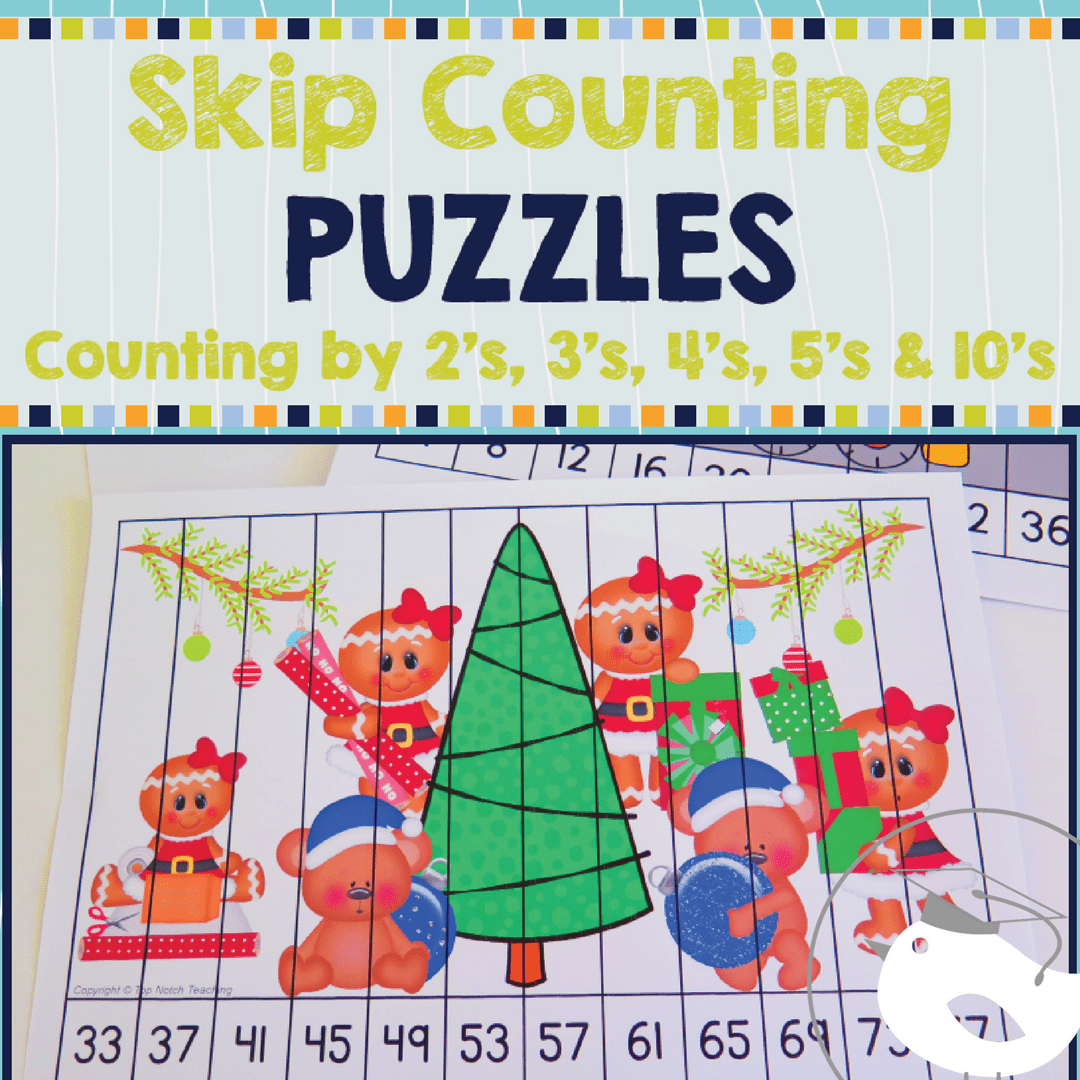Skip Counting Puzzles By 2 S 3 S 4 S 5 S And 10 S